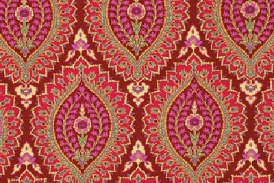 Amy Butler alchemy laminate imperial paisley OAB020 Zinnia H 150 cm